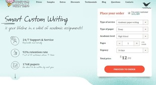 Preview smartcustomwriting screen